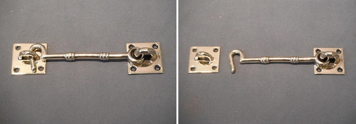 Brass Door Hook And Eye by Below Stairs Of Hungerford Antiques Door Bolts - Antique  Door - Antique Door Hooks Antique Furniture