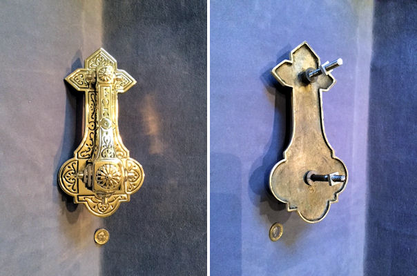 Brass Door Knocker DK362