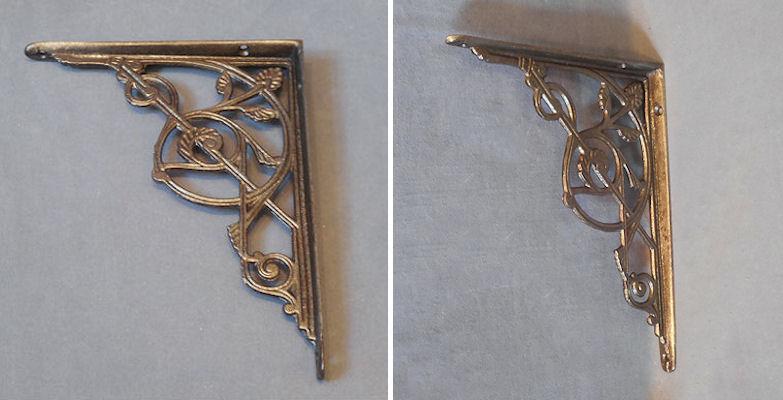 cast iron shelf bracket b88