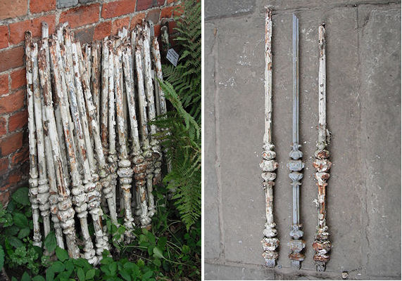Best Antique Run Of Cast Iron Balusters F2 Jpg 571×400 Iron 400 x 300