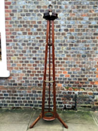 """Thistle Finial Norfolk Reed Antique Brass Stair Rods 3//8/"""" x 36/"""""""